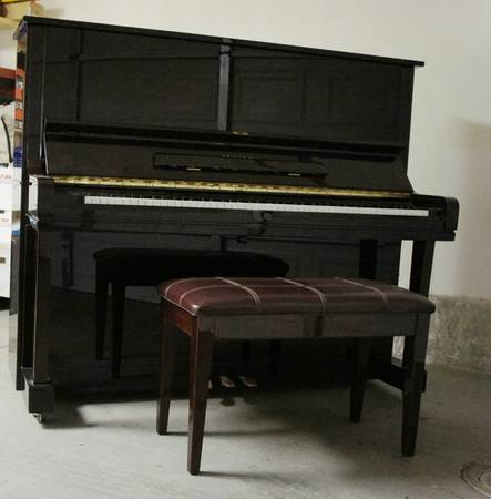 Schafer and Sons VS-52 Vertical Upright Piano - $1500 (Escondido, CA)