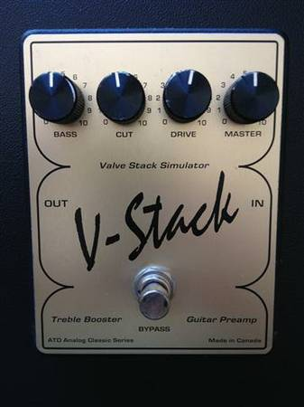 Rare, Classic V-Stack pedal - overdrive treble booster - $80 (So. Carlsbad)