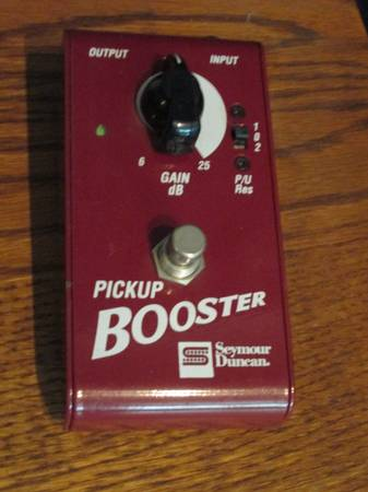Seymour Duncan Pickup Booster Pedal (Need to Sell this Week) - $30 (Rancho San Diego)