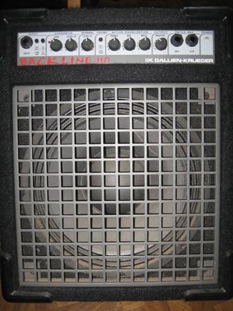 Gallien-Kruger Bass Amp (Need to Sell this Week) - $100 (Rancho San Diego)