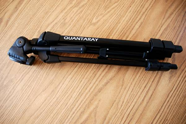 Camera Tripod, Quantaray Brand - $35 (East San Diego)