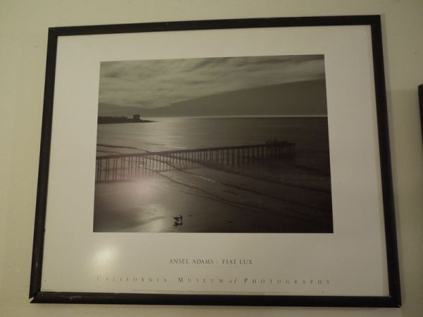 3 Ansel Adams framed prints in Blk and Wht - $25 (El Cajon)