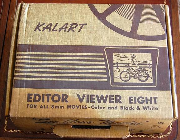 KALART EDITOR VIEWER EIGHT FOR EDITING ALL 8MM FILM - $50 (VIA RANCHO PKY ESCONDIDO)