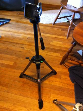 Velbon Videomate 607 video camera tripod - $15 (Vista)