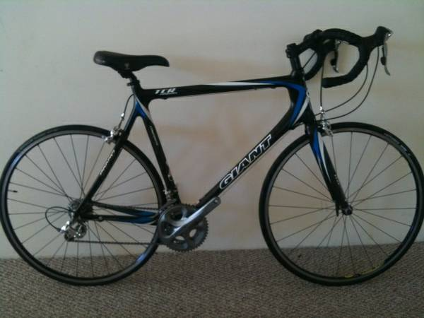 2007 Giant TCR1 Full Carbon XL Road Bike - $1100 (Santa Barbara, CA)