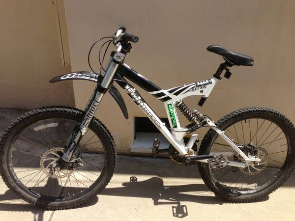 IronHorse SGS-DH 8Full Suspension, RedLine SmackBMX, Raleigh hardtail (Santa Barbara CA)
