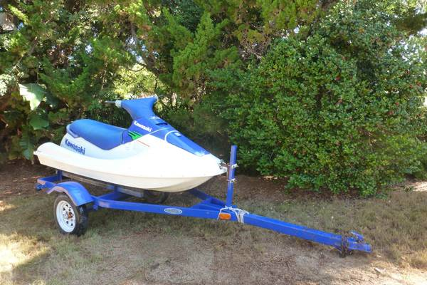 Kawasaki 750 SX Jet ski and Small Boat Trailer - $750 (goleta)
