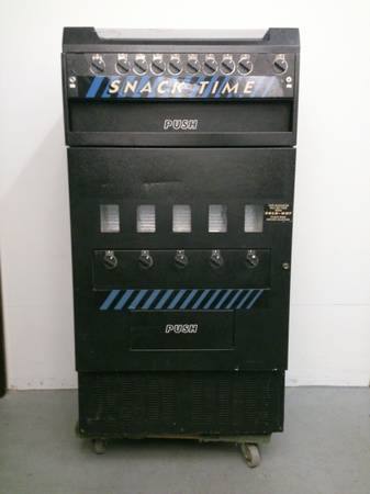 DRINK SNACK TIME VENDING MACHINE - $325 (Downtown SB)