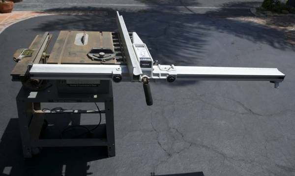 Rockwell Model 9 Contractors Saw Jointer Combination wDelta Unifence - $500 (Uptown Santa Barbara)