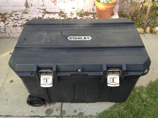 Stanley 37 in. Mobile Job Box - $45 (Santa Barbara)