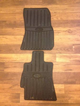 Subaru Outback All-Weather Floor Mats - $45 (Buellton)