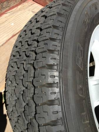 OEM Honda Ridgeline wheels and tires - $350 (Santa Barbara)