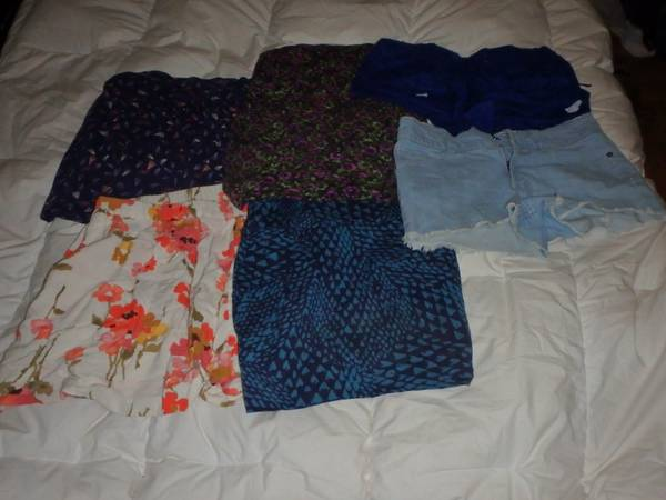 Shorts and Skirts (Nordstrom, Forever 21) - $25 (Santa Barbara)