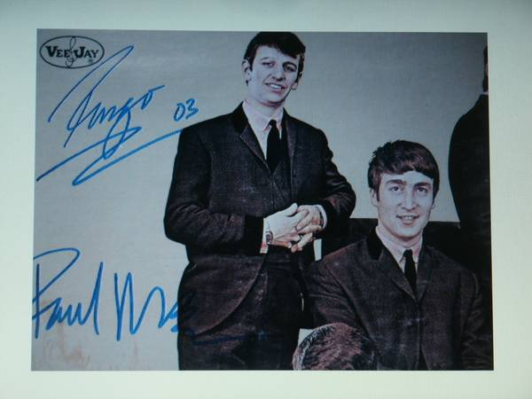 signed beatles (sb)