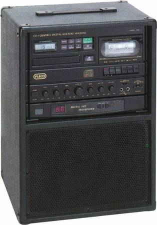Single CDGraphic cassette Karaoke Machine - $240 (Santa Barbara )