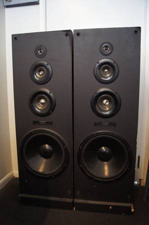 Loud Speakers - $80 (Goleta)