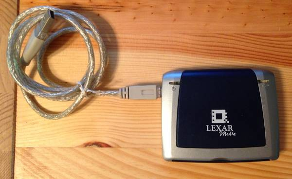 Lexar Media USB 2.0 Multi-Card Reader - $8 (santa barbara)
