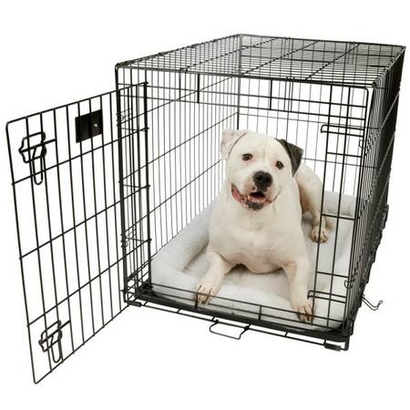 wire dog crate - LARGE - $60 (Goleta)