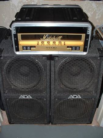 Marshall or Fender tube s,  with 2x12 cabs