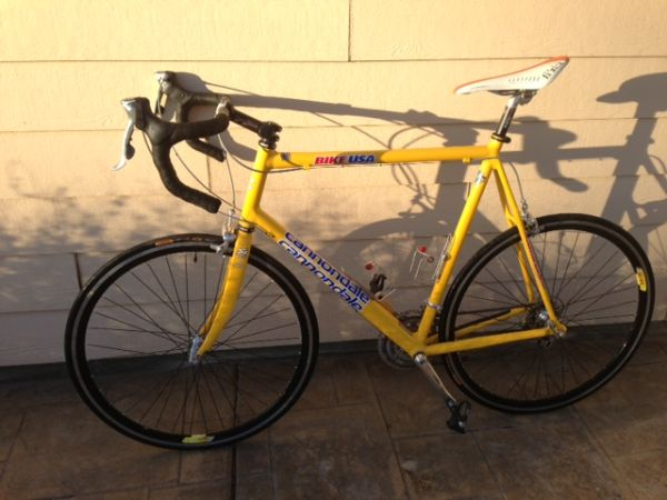 Cannondale Road Bike - $400 (Orcutt)