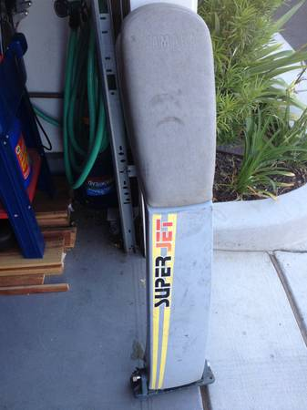 Yamaha superjet handle pole and parts - $100 (Santa BarbaraGoleta )