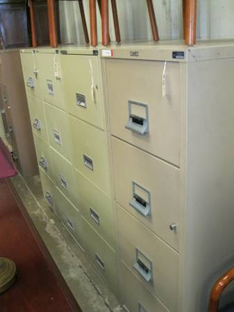 Fireproof 4 Drawer file Cabinets (Templeton)