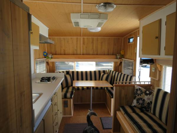 Beautifully Remodeled and Upgraded 1974 Alfa 19ft Travel Trailer - $6500 (Lompoc)