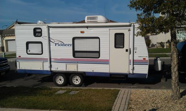 2004 18T6 Pioneer travel trailor - $7000 (santa maria)