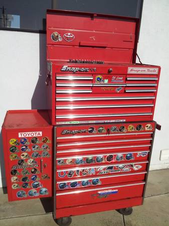 Snap On Tool Boxes (3) Bottom, Top, Side box - $850 (Santa Maria)