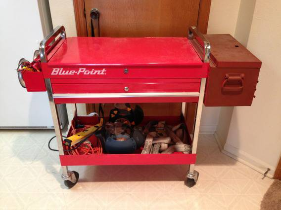 Blue Point Rolling Tool cart box - $300 (Lompoc)