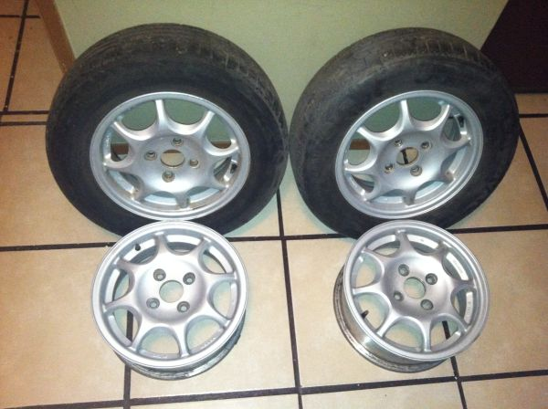 Honda civic hx rims (Lompoc )
