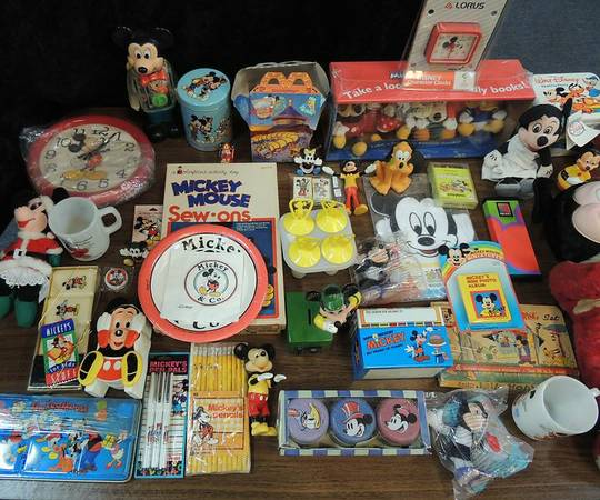 Collections of Mickey Mouse