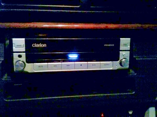 Clarion Pop Out Screen Stereo - $350