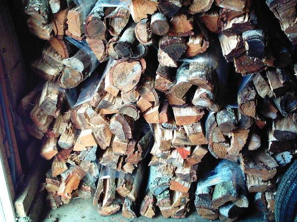 FIREWOOD WOOD RED OAK BUNDLES - $65 (LOMPOC)