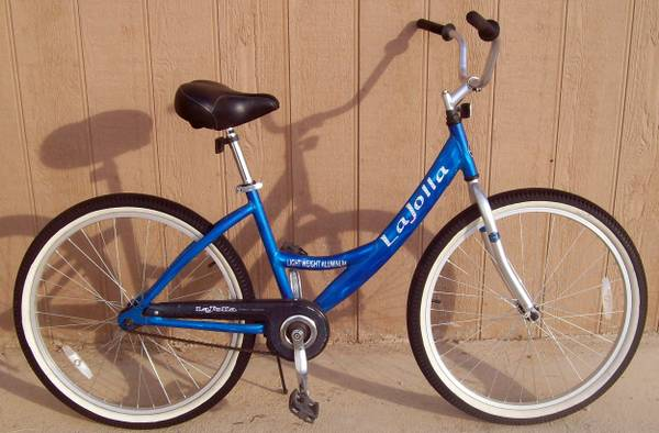 26 Ladies La Jolla light weight street cruiser with lower top bar - $85 (Cus)