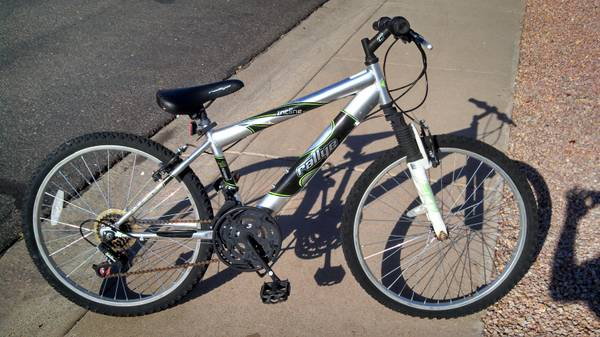 -Silver Mountain bike - $45 (7th st and Bell)