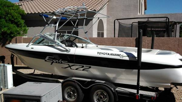 2001 Epic X22 Wakeboat - $22000 (Gilbert)