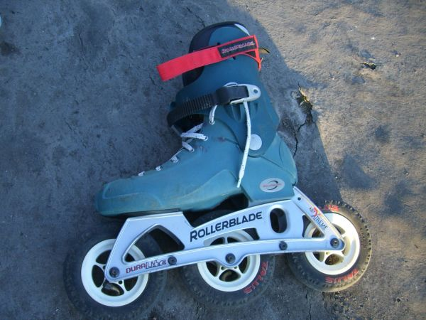 Coyote off road rollerblades - $165 (Lakeside)