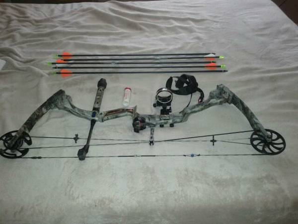 Diamond Black Ice Hunting Bow - $500 (Lakeside)