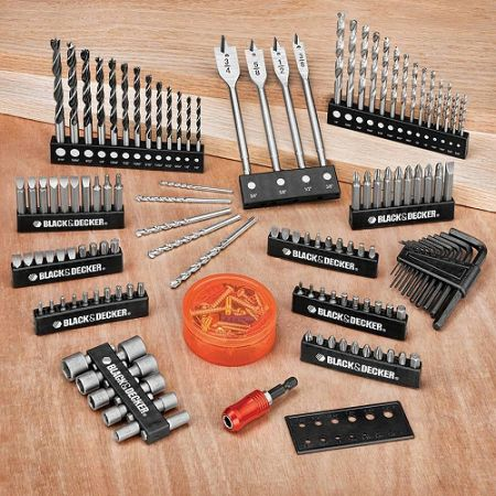 Black Decker Drill and Screwdriver Power Tool Accessory Set - 195 pc - $30 (Show Low)