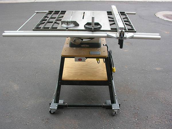 Craftsman 10 Table Saw Model 113.27520 wmobile shop stand - $335 (Pinetop)