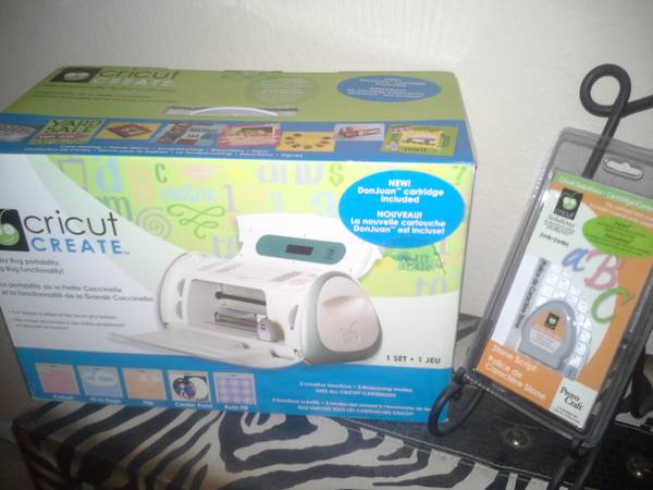 Cricut Create NEW in BOX - $80 (39ave Happy Valley)