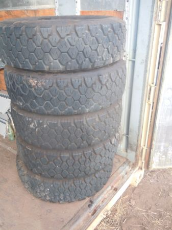 245 70R 19.5 Goodyear tires - $260 (Show Low)
