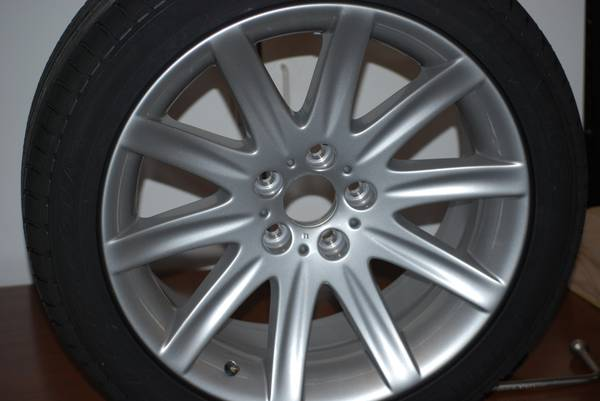 BMW 750i Full Size Spare New Rim Tire for sale or trade - $500 (Lakeside, AZ.)