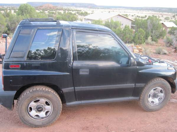 96 Geo Tracker for parts or project - $1200 (Snowflake)