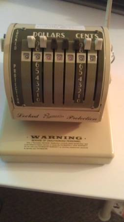 Original Paymaster Series x-550 WORKS - $65 (Camelback7th Ave)