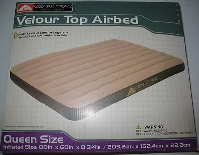 Air Mattress Bed (Like New) - $35 (Show Low)