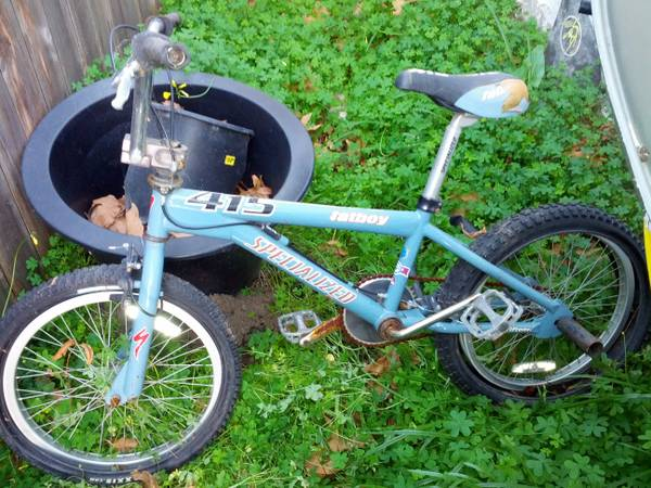 Early 2000s Fatboy Specialized BMX - $35 (San Luis Obispo)