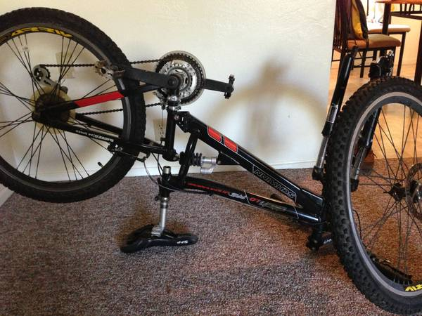 Schwinn full suspension - $50 (San Luis Obipso )