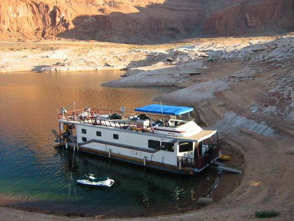 span classstarspan houseboat 55 Complete recondition - $39900 (Antelope Marina Lake Powell)